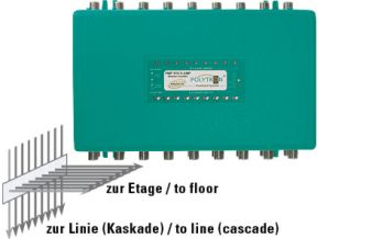 Trunk-Amplifier for cascadable systems