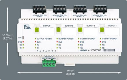 Hub and Bus Isolator HUB4D