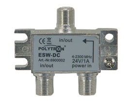 Insertion combiner AC/DC