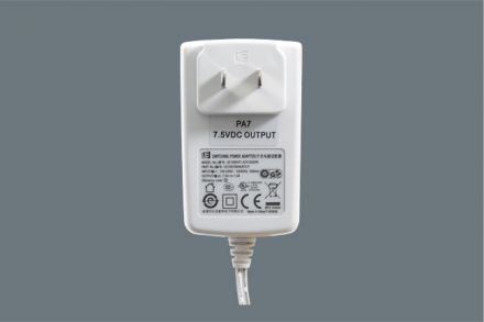 7.5 Vdc Power Adapter Plug PA7