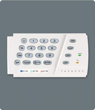 10-Zone Hardwired LED Keypad K636