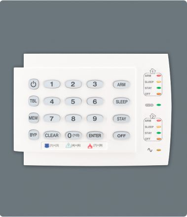 10-Zone Hardwired LED Keypad Module K10H