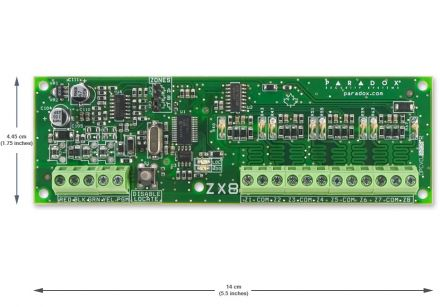 8-Zone Expansion Module ZX8SP