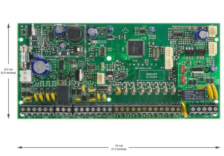 Expandable to 32-Zone Control Panel SP6000