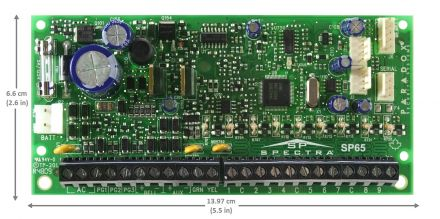 Expandable to 32-Zone Control Panel SP65