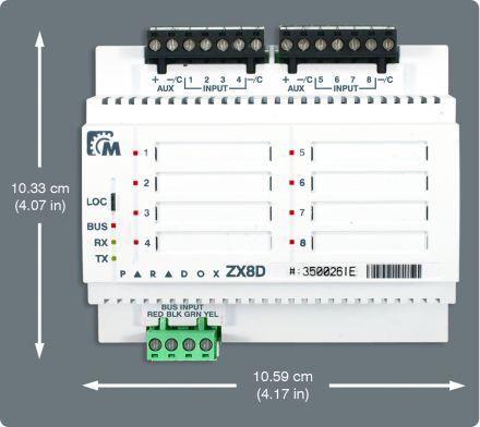 8 Zone Expansion Module ZX8D