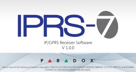 IP/GPRS PC Receiver Software IPRS-7