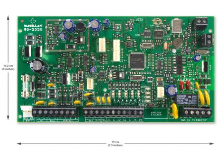MAGELLAN 32-Zone Wireless Transceiver Control Panel MG5050