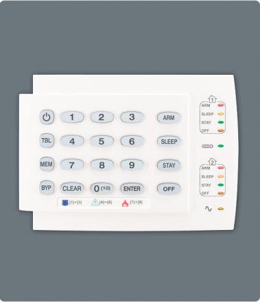 10-Zone Hardwired LED Keypad Module K10H