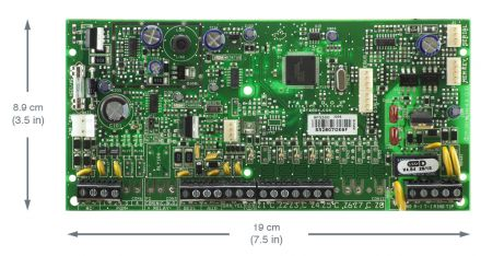 Expandable to 32-Zone Control Panel SP5500