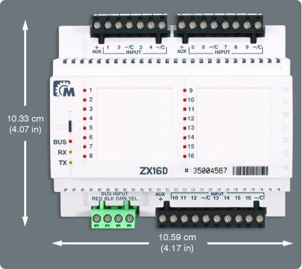 16 Zone Expansion Module ZX16D