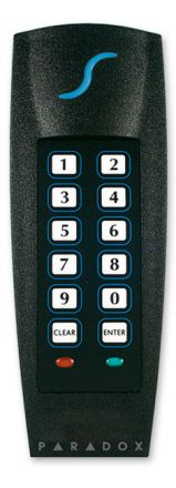 Indoor/Outdoor Proximity Reader and Keypad R885